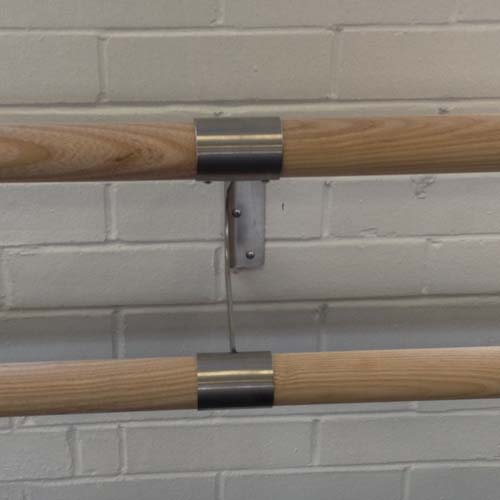 Double link bracket with barres